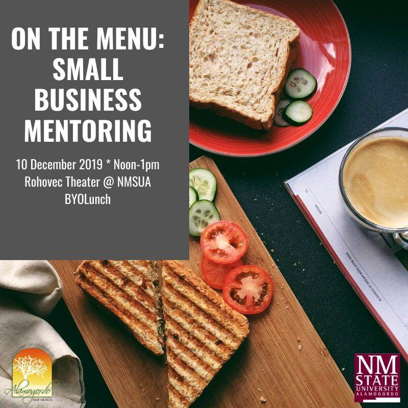 Small Business Mentoring December 10th 2019
