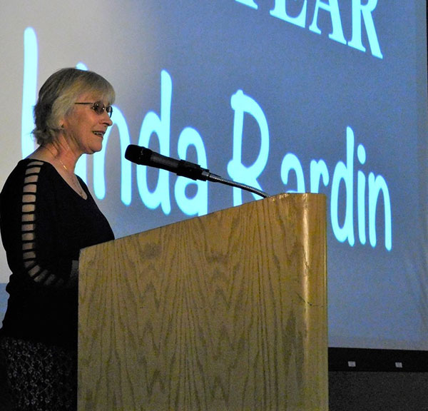Linda Rardin Citizen of the Year