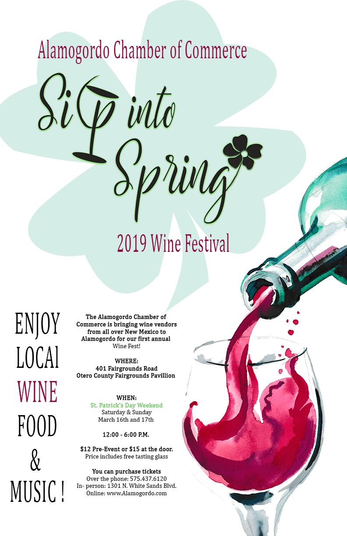 Sip Into Spring 2019 Wine Festival