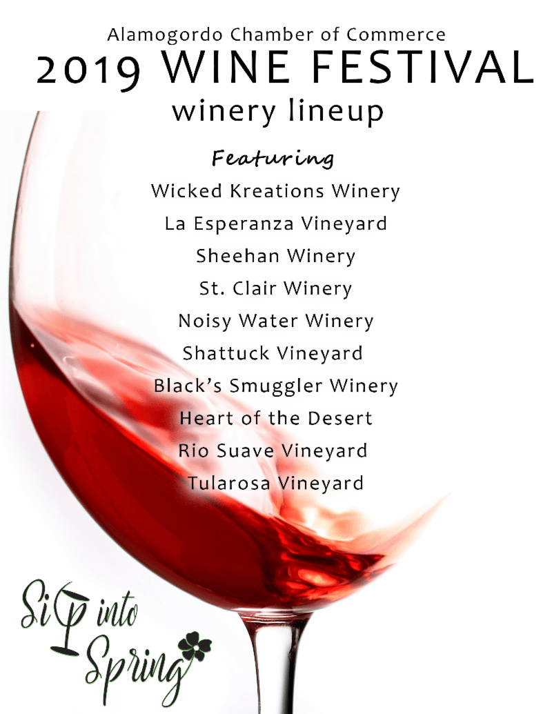 Sip into Spring Wine Festival